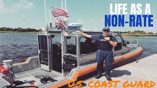 Life as a non-rate in the Coast Guard