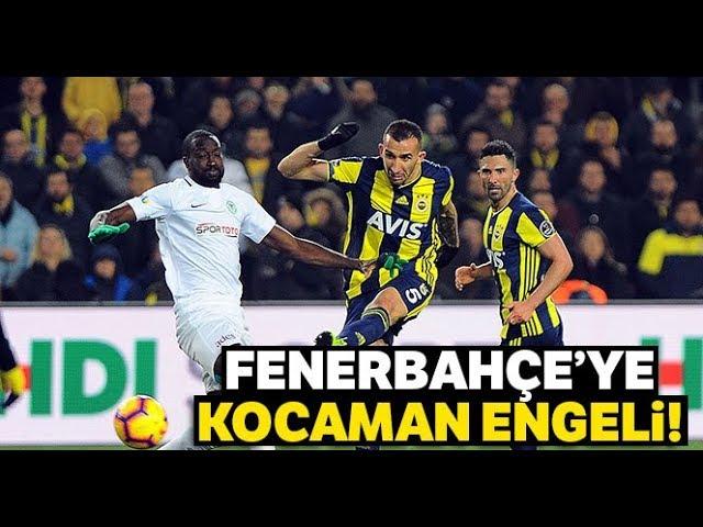 Kadıköy'de Puanlar Paylaşıldı I Fenerbahçe: 1 - Konyaspor: 1