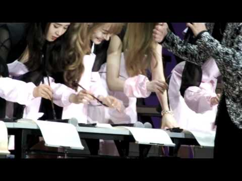 [fancam] 140930 SNSD Fan Meeting Tiffany failing Chinese part 1