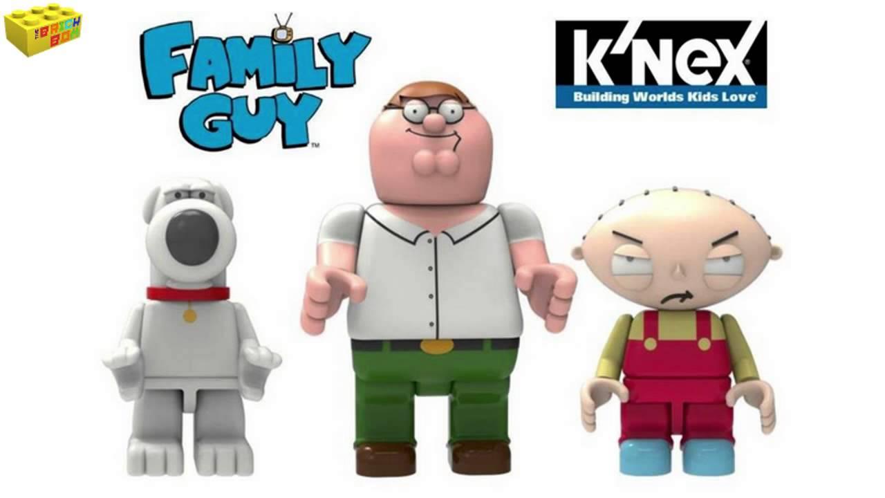 K/'Nex Family Guy Brian Series 1 Blind Bag Figures