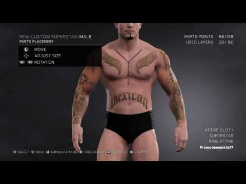 How To Make Rey Mysterio In Wwe 2k17