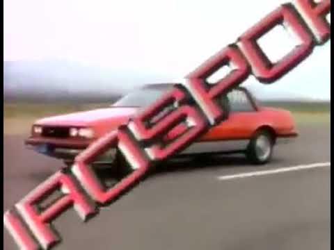 1986 Chevrolet Celebrity Eurosport (México)