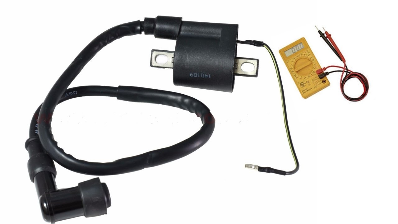Cómo probar la bobina de ignicion o de alta tensión en una motocicleta (con multimetro ) parte 1