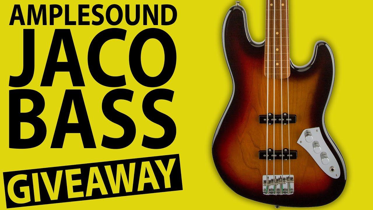 Ample Sound VST Bass Giveaway: Jaco Fretless
