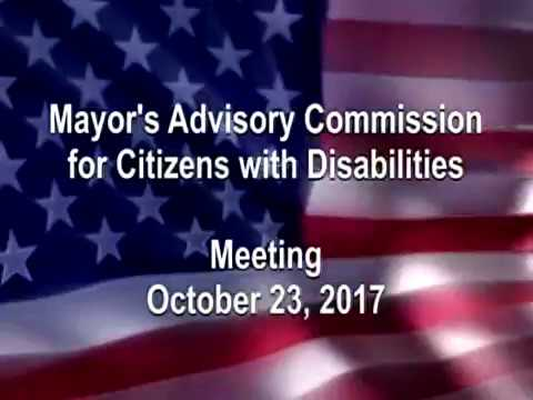 Mayor's Commission for Citizens with Disabilities