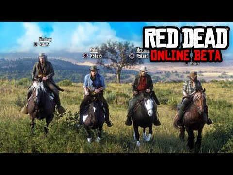 RED DEAD ONLINE BETA FREE ROAM! | Red Dead Redemption 2 Online Multiplayer Gameplay thumbnail