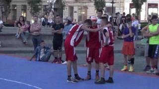 Чернівці Open 2016 з баскетболу 3х3 U-18 фінал