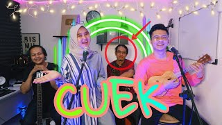 Cuek - Rizky Febian Cover Deny Reny Ft Apoy Wali (KW) Keroncong Beatbox