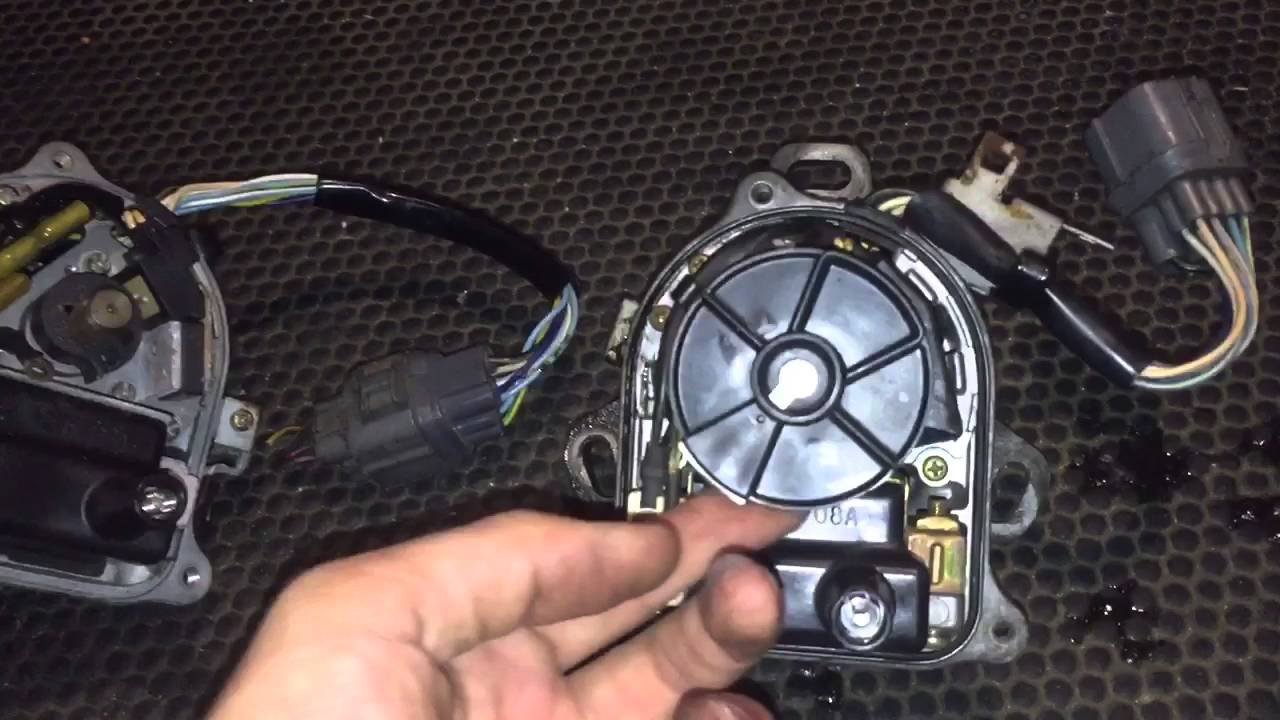 Honda d series distributor igniter and coil replacement