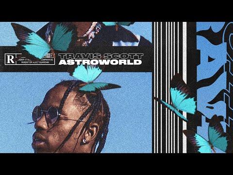 Travis Scott Astroworld Album Artwork Speedart