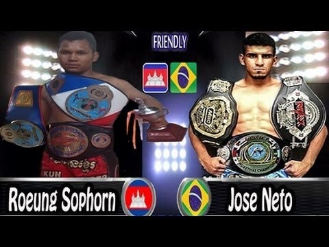 Khmer Boxing new - Roeung Sophorn Vs.Jose Neto, 25 6 2016, TV3 Boxing