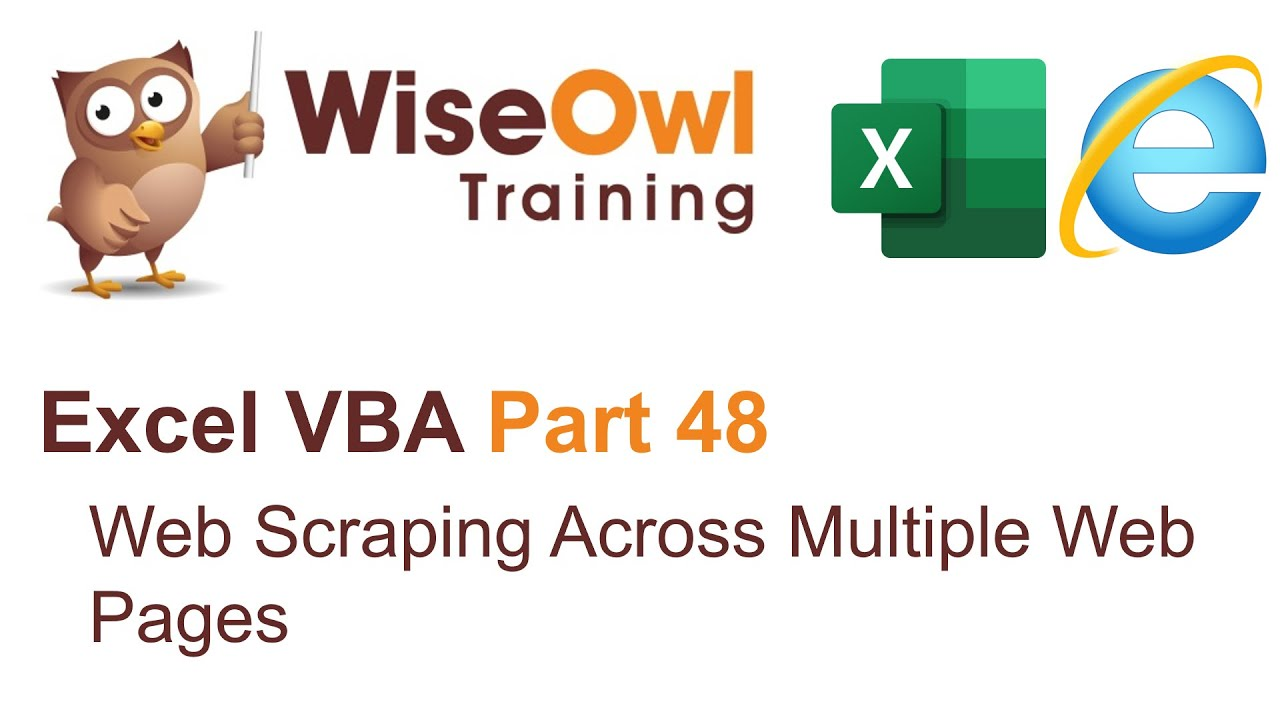 Excel VBA Introduction Part 48 - Web Scraping Across Multiple Pages