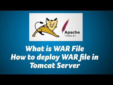 What Is WAR, How To Deploy WAR File In Tomcat Server