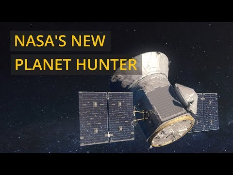 NASA's TESS space telescope begins hunt for exoplanets