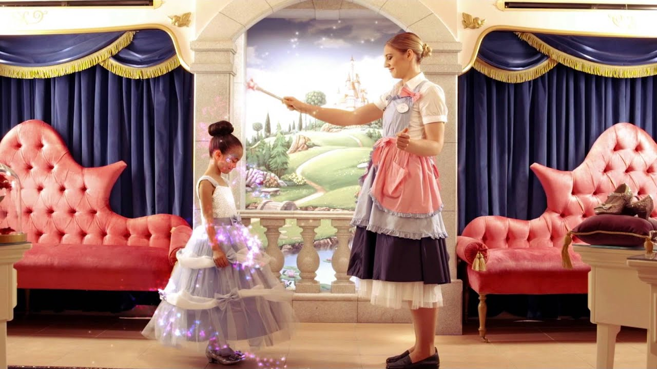 DISNEY STORE Bibbidi Bobbidi Boutique At Harrods The Ultimate Disney Princess Transformation