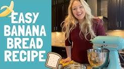 BEST EVER EASY Banana Bread Recipe *with SECRET ingredient!* | iskra