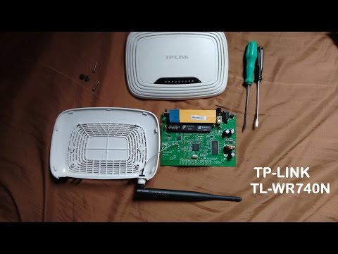 How to open a TP-Link WDR 3600 by The Smart Guild LLC