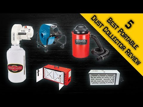 5 Best Portable Dust Collector Review| Best Small Shop Vac | Best Dust Collector 2018