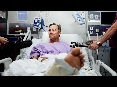 شاهد: يسقط من شلال في استراليا فتنكسر ساقه ثم يزحف يومين في الغابة إلى حين إنقاذه…  - نشر قبل 3 ساعة