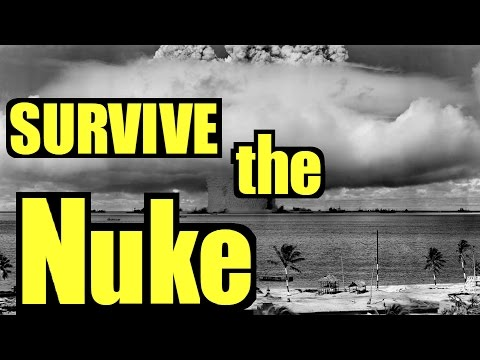 ☢️ How to Survive Nuclear Attack ☢️  Survive Nuclear Fallout ☢️  How to Survive a Nuclear Bomb