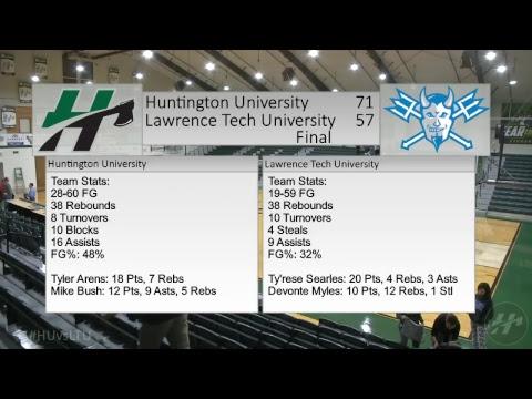 HU Men's Basketball vs. Lawrence Tech (MI) -- 11.7.2017