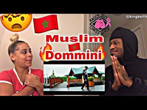 MUSLIM - DOMMINI REACTION 🔥🇲🇦 'MOROCCAN MUSIC' OFFICIAL MUSIC VIDEO MUST WATCH!