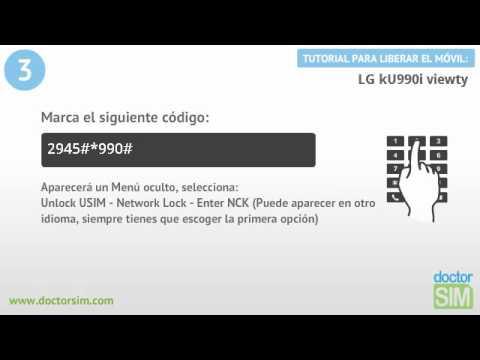 Liberar móvil LG KU990i Viewty | Desbloquear celular LG KU990i Viewty