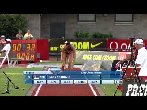 Women's 100m IAAF Diamond League Athletics - Eugene 2015 from YouTube · Duration:  2 minutes 2 seconds