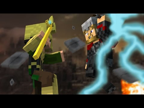 THOR vs LOKI - Versus - Minecraft // FRANGO