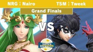 Tristate Showdown - NRG | Nairo (Palutena) Vs. TSM | Tweek (Joker) - Grand Finals - Smash Ultimate
