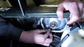 Как заменить лампы ближнего/дальнего света на ВАЗ 21015