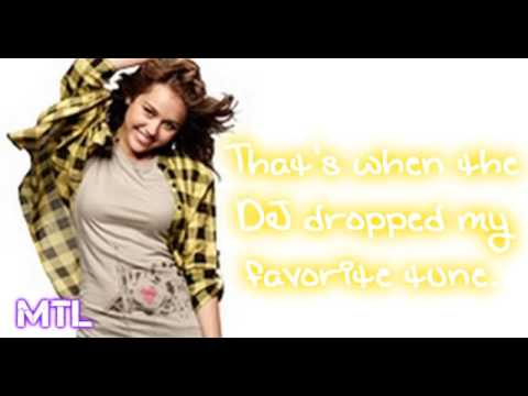 Miley Cyrus Party In The USA full lyrics with download link