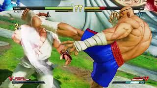 STREET FIGHTER V Sagat vs Ryu