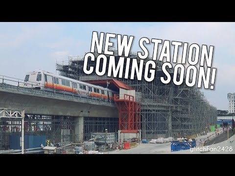 [SMRT] Building Canberra MRT Station around an Active Train Line - August 2018