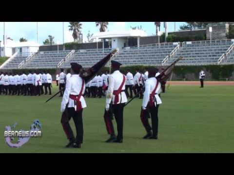 #2: Bermuda Regiment Colours Presentation