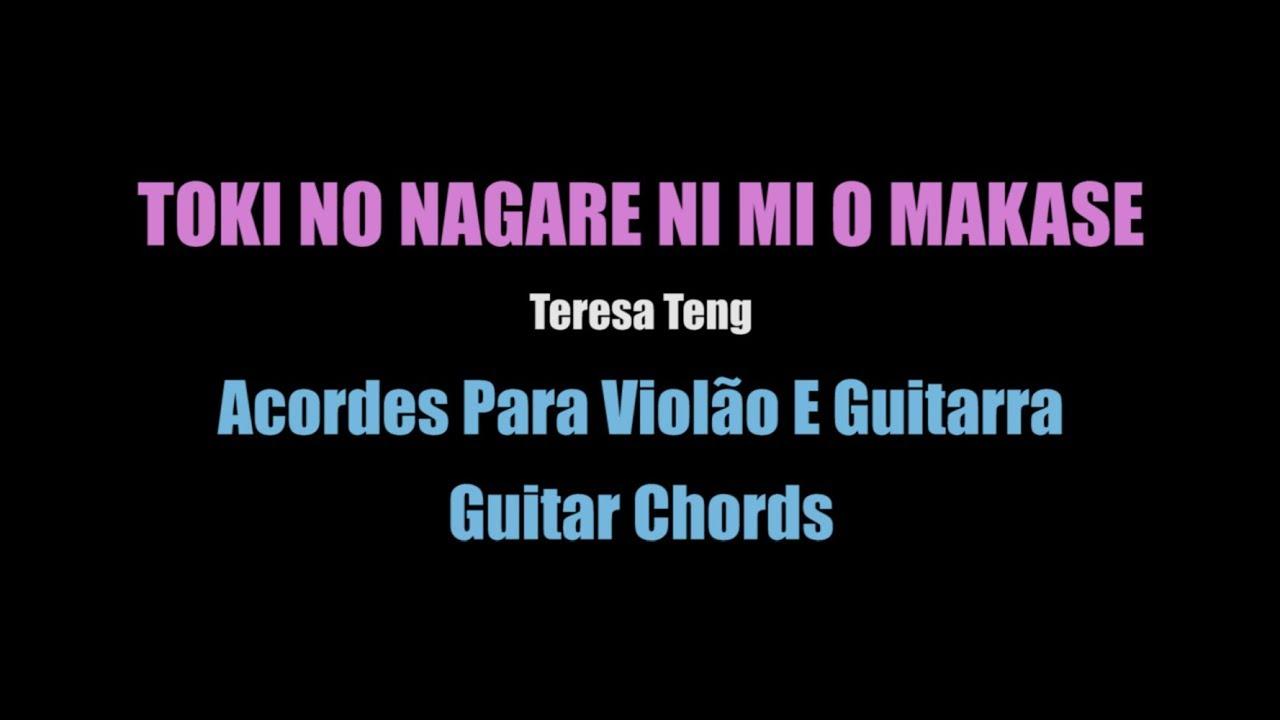 Acordes Viologuitar Chords Toki No Nagare Ni Mi O Makase