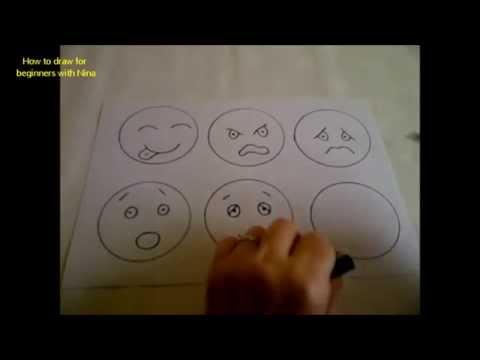 CÓMO DIBUJAR Emociones. Imágenes De Estados De ánimo Para Niños