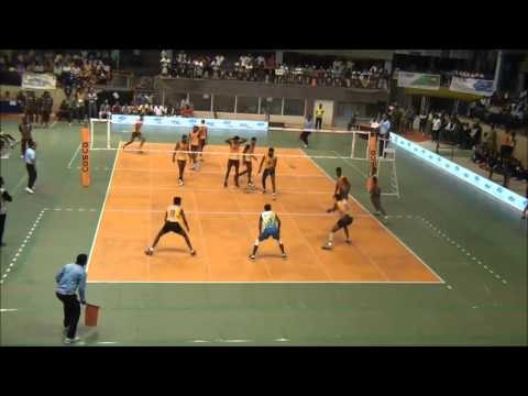 64th Indian National Volleyball Championship League Matches: Karnataka vs Tamilnadu
