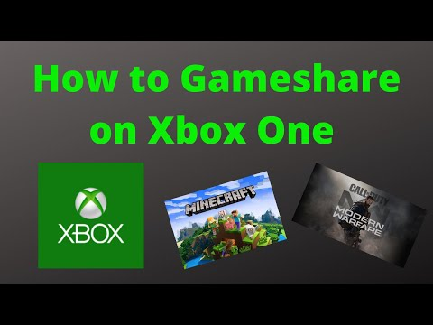 *HOW TO GAMESHARE ON XBOX ONE IN 2020 (SUPER EASY)!!!!