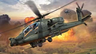 сборная модель Revell AH-64 Apache (1:100)