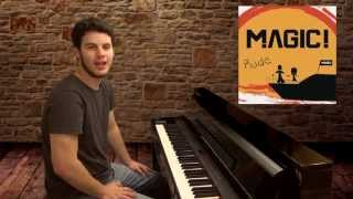 """Rude"" MAGIC! Piano Cover (Ryan Jones)"