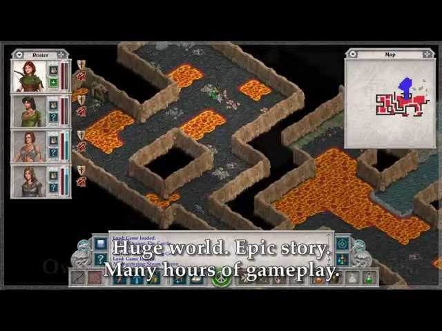 Avernum 2: Crystal Souls (видео)