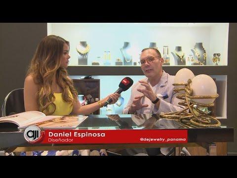 Entrevista al diseñador internacional de joyas Daniel Espinosa de Jewerlry