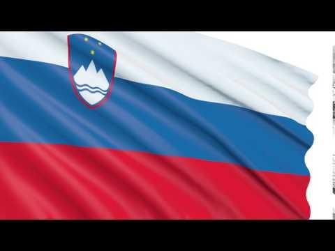 Bandera 3D animada gratis Eslovenia - Republika Slovenija