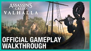 Assassin's Creed Valhalla: Official 30 Minute Gameplay Walkthrough | UbiFWD July 2020 | Ubisoft NA