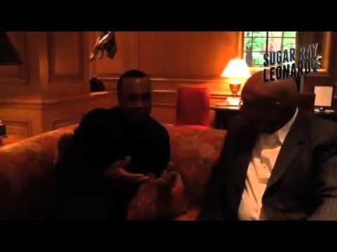 Sugar Ray Leonard & George Foreman