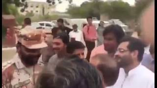 See What Happened When Rangers Messed with Amir Liaquat and Farooq Sattar ar Karachi University