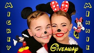 Mickey Mouse and Minnie Mouse Makeup and Costumes! + iPad GIVEAWAY!