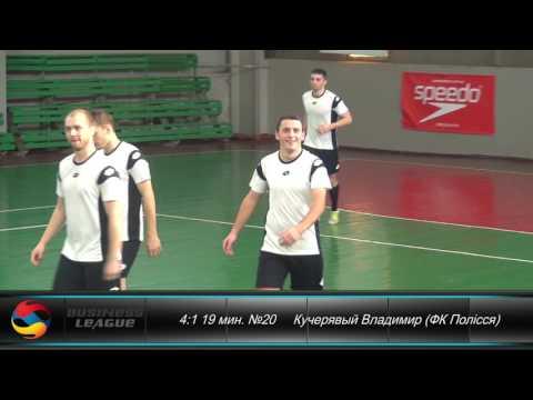 Лига D | 1 тур | ФК Полісся 6-2 Нафтогаз України | Highlights | Business League | Бизнес Лига