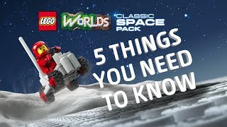 LEGO Worlds - 5 Things You Need To Know About Classic Space